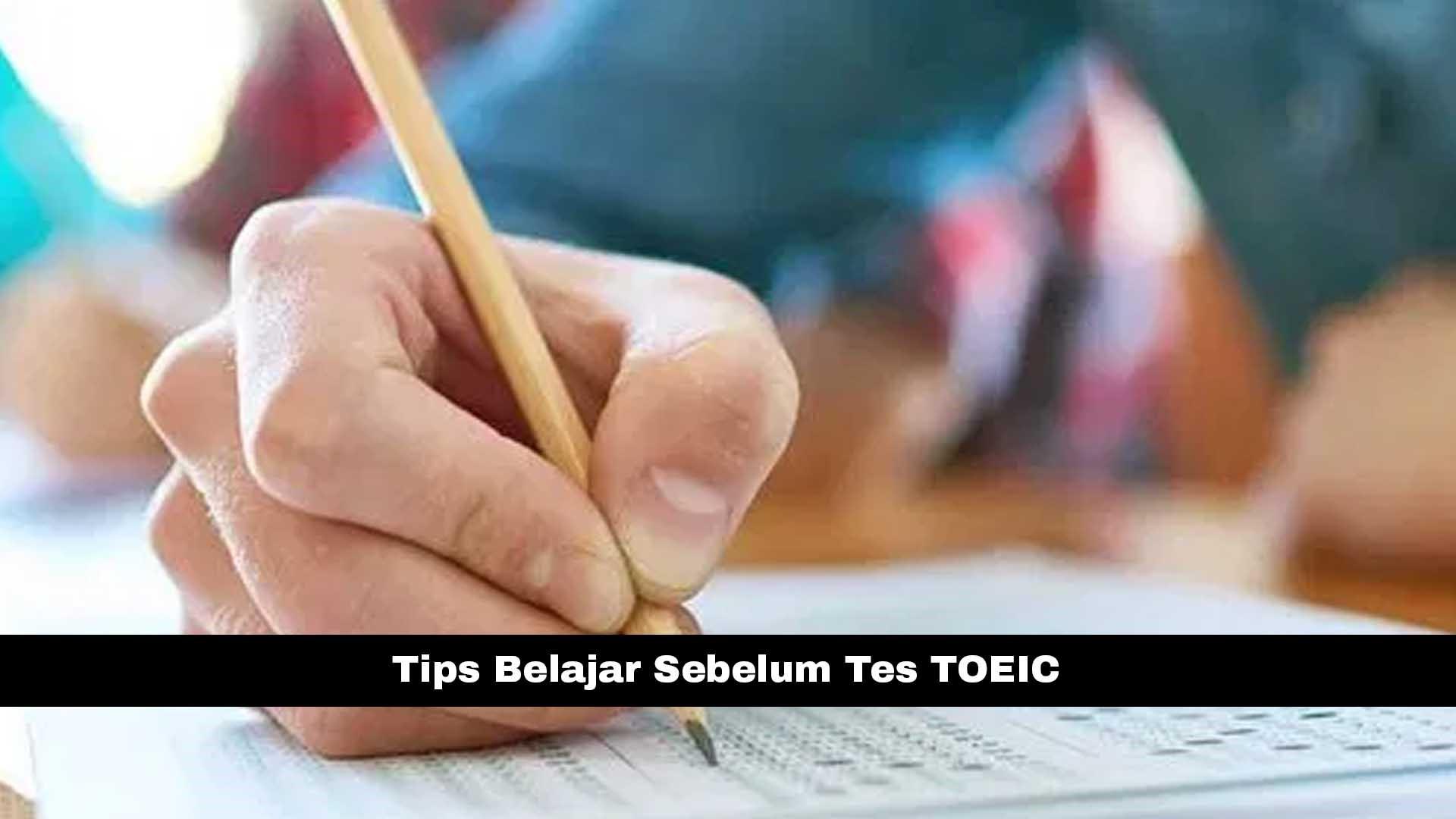 Tips Belajar Toeic